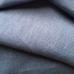 Denim Blue Washed Linen